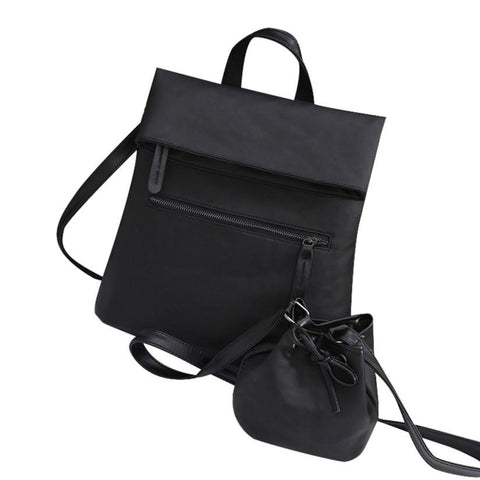 Xiniu bags 2pcs Women Vintage Leather Bags and Shoulder Bags Female Card Holders Ladies Cross Body Bag
