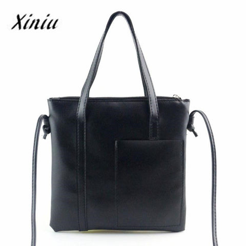 Xiniu Bags Women Tote Ladies Shoulder Large Shopping Bags Women Small Top-Handle 2017 Fashion Women Messenger Bag BaoBao#YHYW