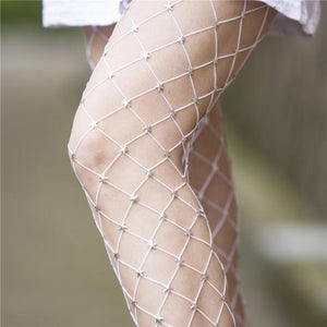 Sexy Pantyhose Women Tights With Star Punk Fashion Mesh Fishnet Stockings Female Nylon Party Nightclub Lingerie Hosiery 2017 New