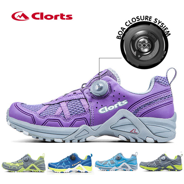 2017 New Clorts Women BOA Lacing System Running Shoes Free Run Lightweight Sport Shoes Breathable Outdoor Running Sneakers 3F013