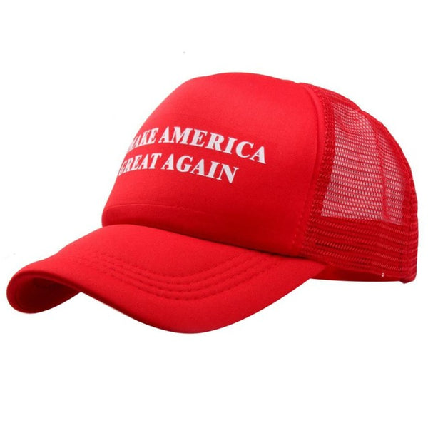 2017 Fashion snapback cap women baseball cap hip hop caps for women Casual Solid Make america great again Letter Mesh hats 1207#