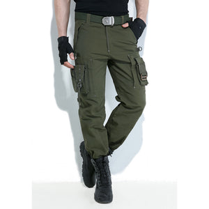 FreeKnight Men's Plus Size Pants Autumn Multi - Pocket Cargo Pants Men's Outdoor Pants Hiking Pants