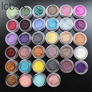LCBOX 50PCS Mixed Color Professional Nude Eyeshadow Makeup Matte Eye Shadow Palette Make Up Glitter Eyeshadow Shade For Eyes