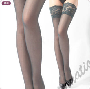 2 pairs!Hot Sexy Ladies Women's Sheer Lace Top Thigh High Stockings 15 Colors hose nylon stockings Women's Tights