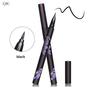 12pcs/lot Hight quality Black Long Lasting Eye Liner Pencil Waterproof Eyeliner Cosmetic Beauty Makeup Liquid Eyeliner Pen