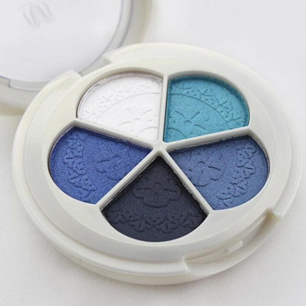 1PC Quality 5 Color Petal Professional Nude eyeshadow palette makeup Eye Shadow palette Make Up Glitter eyeshadow Z3