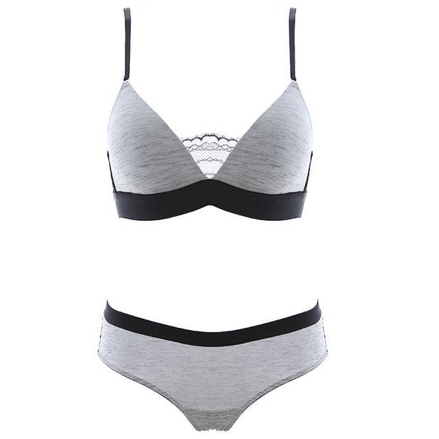 Bra sets NEW sexy luxury push up lace sexy bra set seamless B C cup women underwear