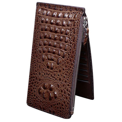 Genuine Leather Card Holder Alligator Grain Credit Card Holders High Quality Card Wallet
