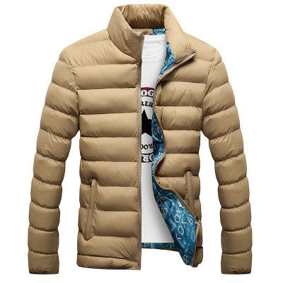 Coat Casual Design Solid Male Windbreak Jackets M-4XL
