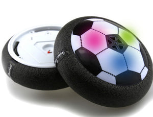 Hot Hover Ball LED Light Flashing Air Power Soccer Ball Disc Indoor Football Toy
