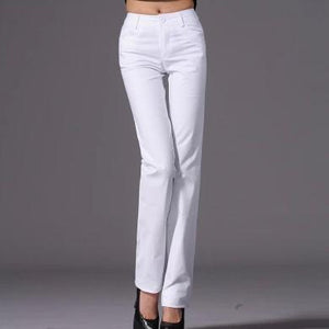 new fashion casual mid-waist women pant cotton office lady OL pencil pants trousers s-4xl