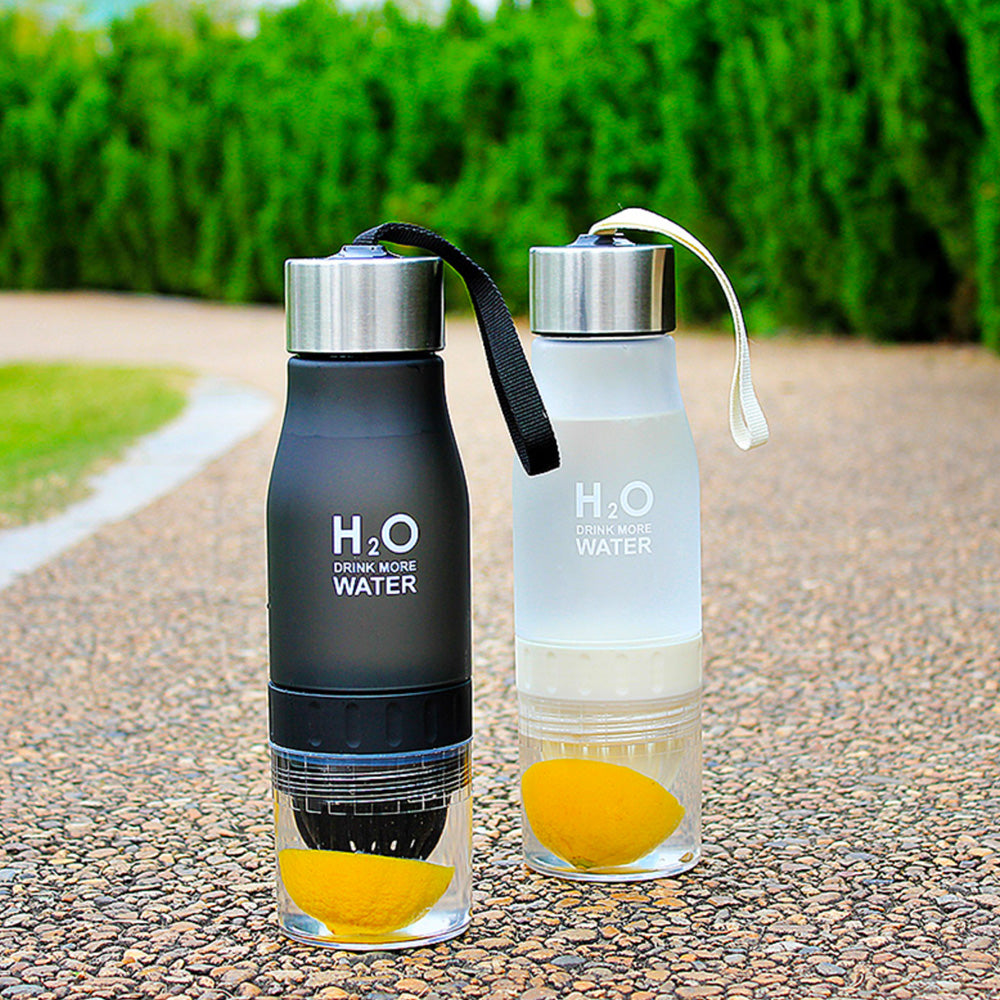 Water Bottle with Fruit Infuser