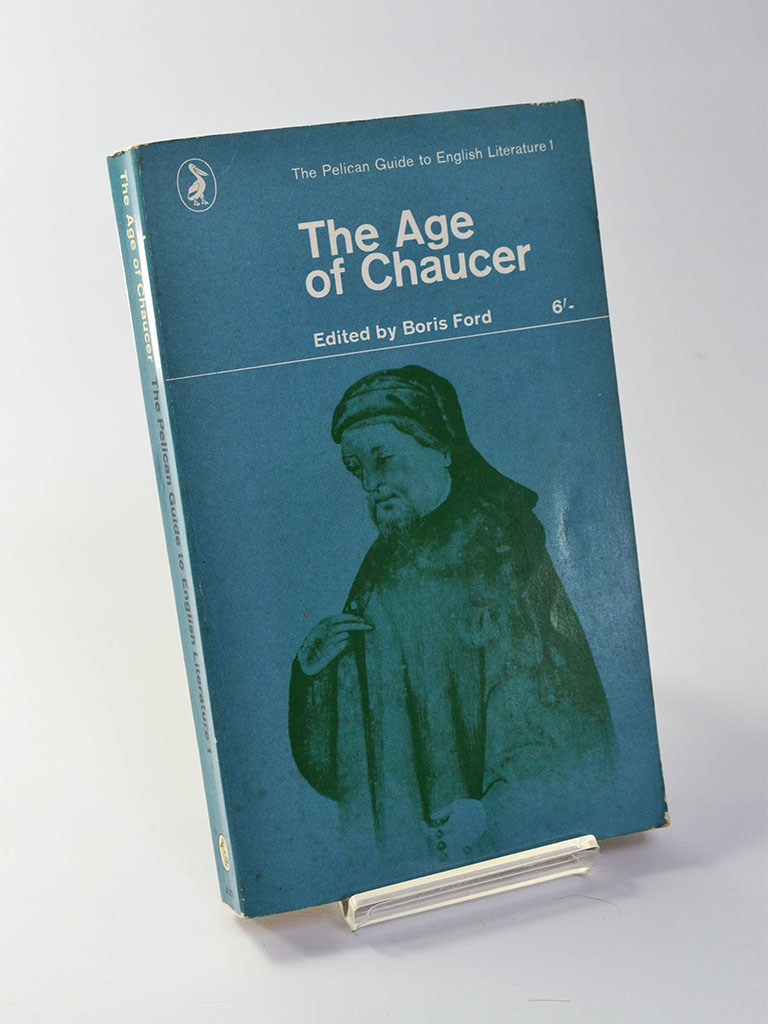 Penguin Guide to English Literature 1: The Age of Chaucer Ed. by Boris Ford (Penguin Books / 1965 revised edition of work first published in 1954)