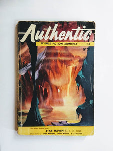 Authentic Science Fiction Monthly Vol 1 No. 52 (Hamilton & Co / December 1954)
