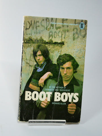 Boot Boys by Richard Allen (New English Library / April 1975 reprint)