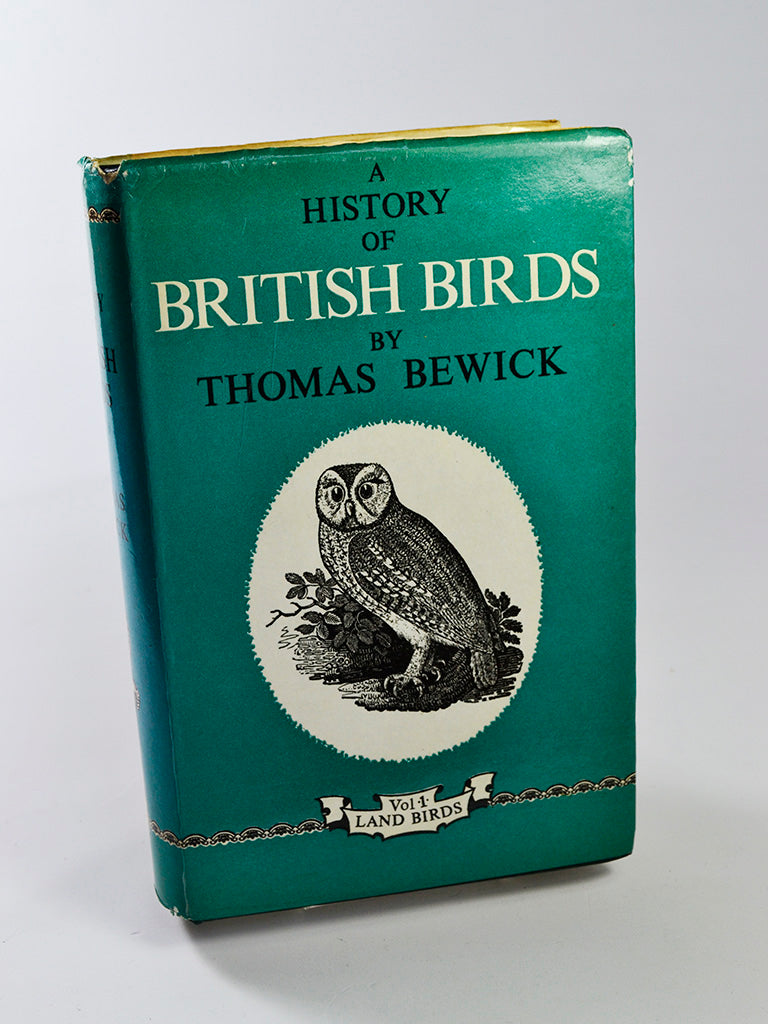A History of British Birds (Vol 1: Land Birds) by Thomas Bewick (Frank Graham Publishing / facsimile of 6th edition, 1971)
