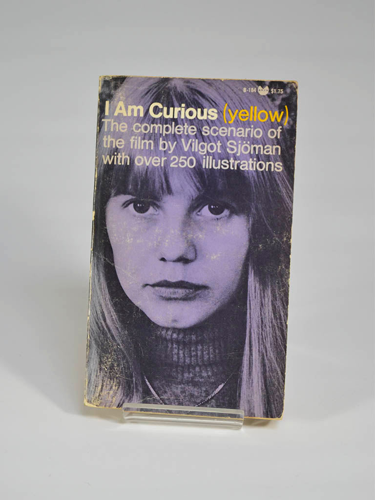 I am Curious (Yellow): The Complete Scenario of the Film by Vilgot Sjoman With Over 250 Illustrations (Grove Press / 1968)