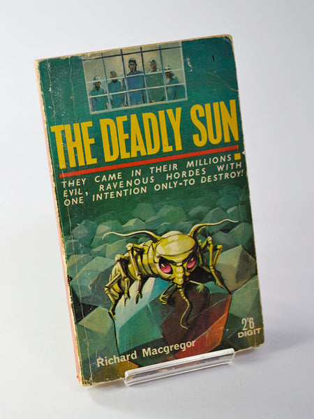 The Deadly Sun by Richard Macgregor (Digit Books / 1964)
