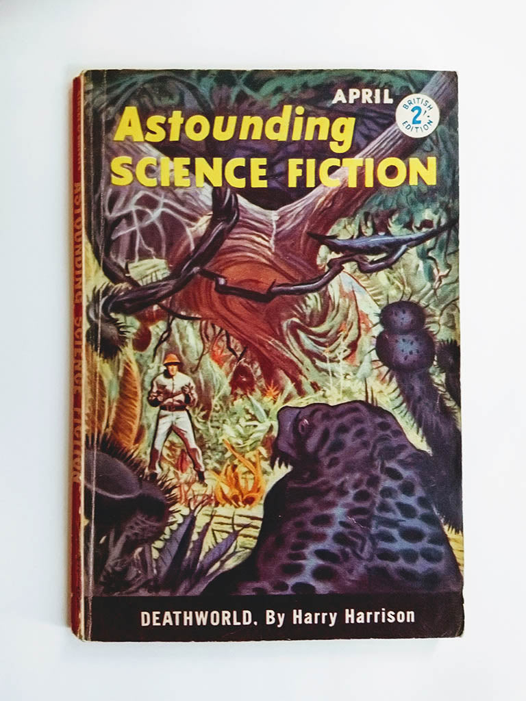 Astounding Science Fiction Vol XVI No. 2 (Atlas Publishing / April 1960)