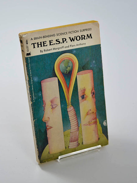 The E.S.P. Worm by Robert Margroff and Piers Anthony (Paperback Library / 1970)