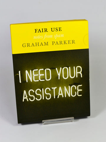 Fair Use (Notes from Spam) by Graham Parker (BookWorks / 2009)