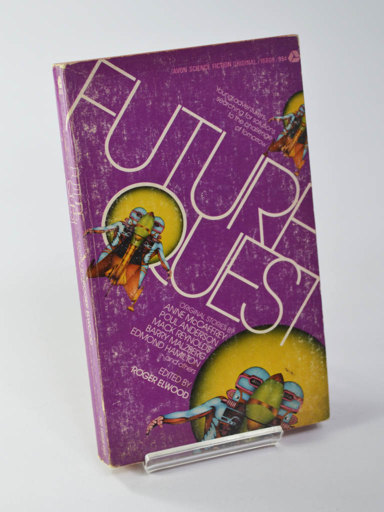 Future Quest Ed. by Roger Elwood (Avon Books / First Printing 1973)