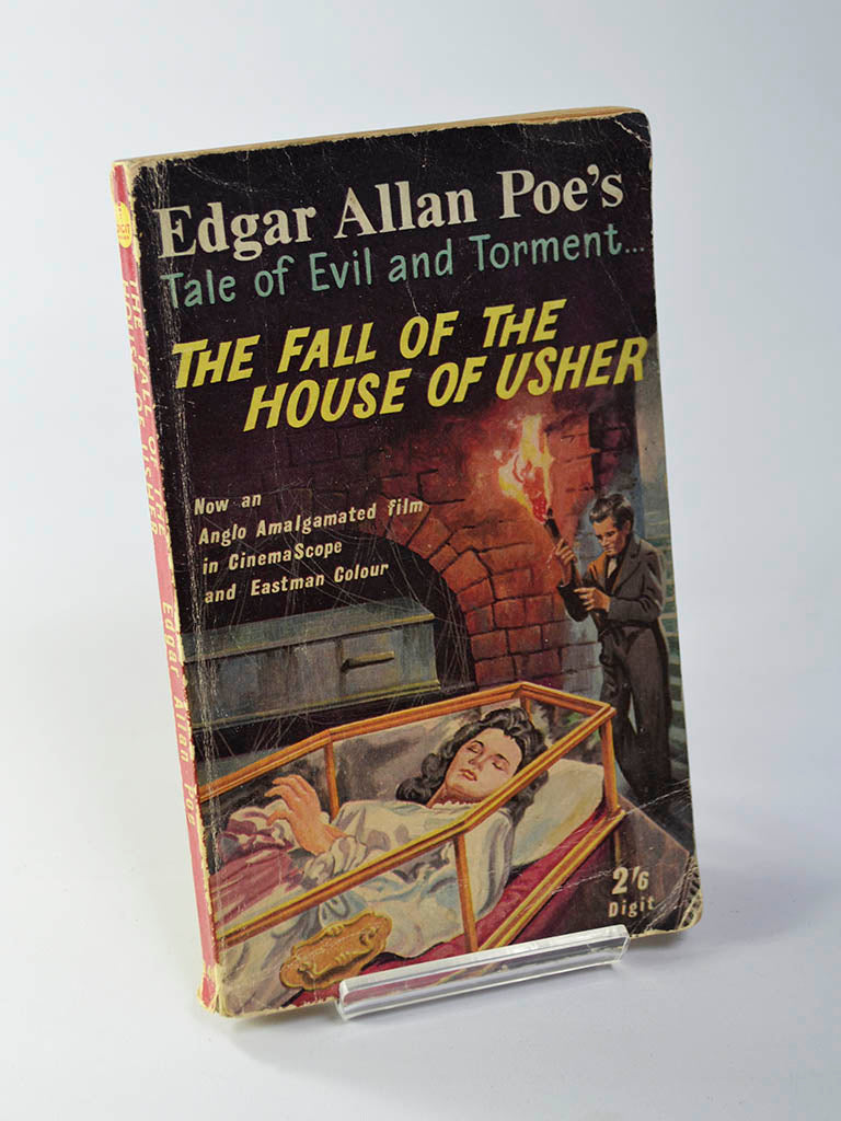 The Fall of the House of Usher by Edgar Allan Poe (Brown Watson Ltd / undated movie tie-in edition)