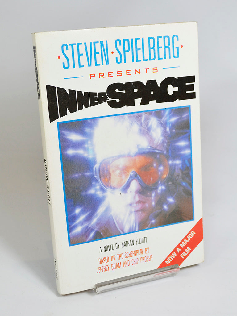 Innerspace by Nathan Elliott (Dragon Books / 1987)