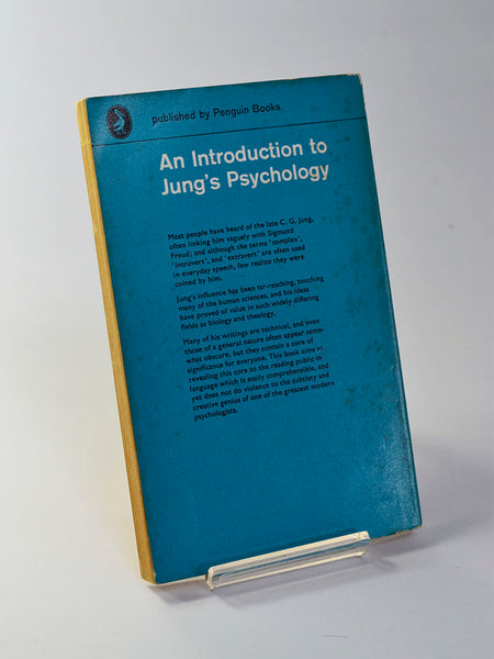 An Introduction to Jung's Psychology by Frieda Fordham (Penguin Books / 1963 edition of classic study first published in 1953)