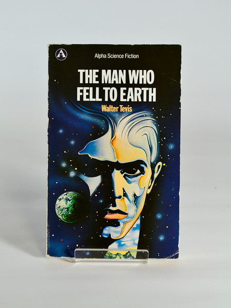 The Man Who Fell to Earth by Walter Tevis (Oxford University Press Alpha Science Fiction Series / 1979; sixth impression, 1989)
