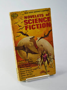 Novelets of Science Fiction Ed. by Ivan Howard (Belmont Books / first printing, July 1963)
