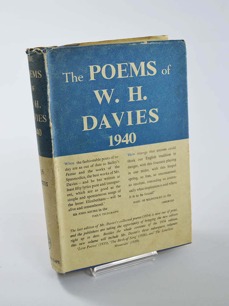 The Poems of W.H. Davies (Jonathan Cape / 1940)
