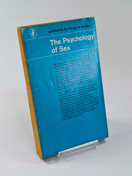 The Psychology of Sex by Oswald Schwarz (Penguin Books / 1962 edition of classic study first published in 1949)