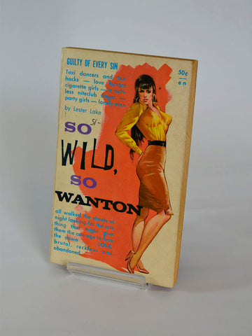 So Wild, So Wanton by Lester Lake (All Star Books / 1962)