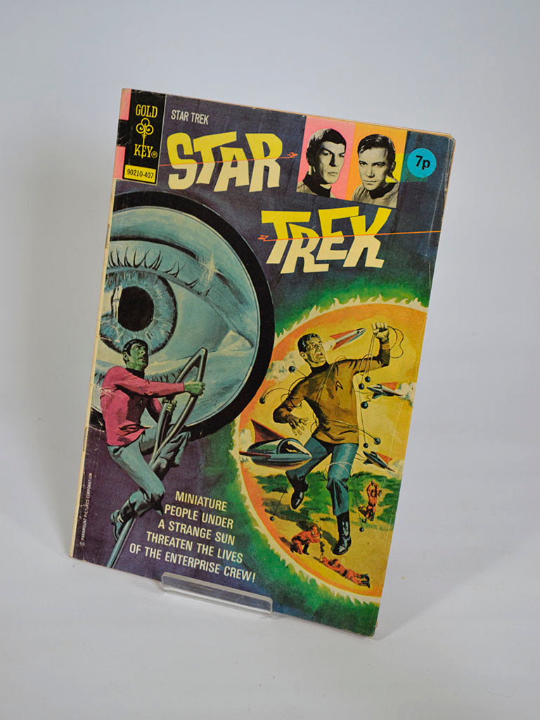Star Trek Comic No 24 (Gold Key / 1974) Dwarf Planet (Part 1)