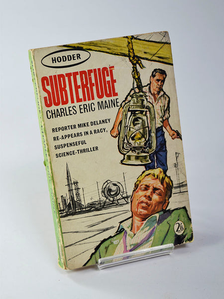 Subterfuge by Charles Eric Maine (Hodder & Stoughton / first paperback edition, 1962)