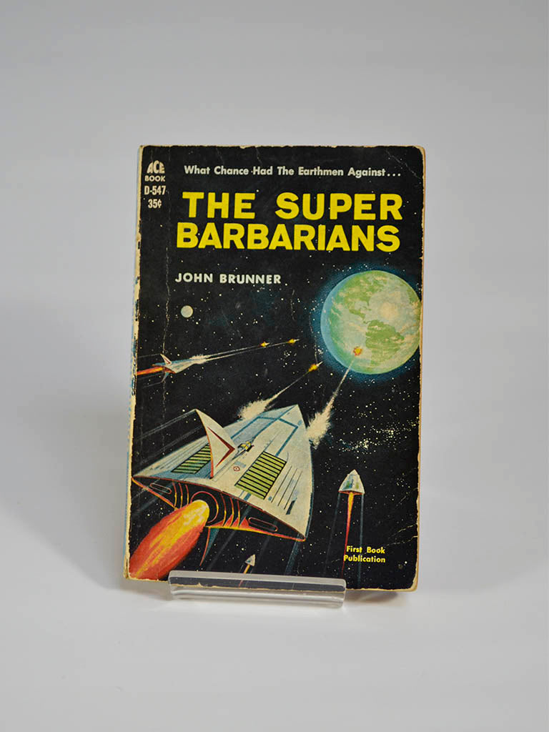 The Super Barbarians by John Brunner (Ace Books / 1962)