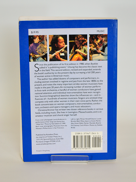 Unsung: A History of Women in American Music by Christine Ammer (Amadeus Press, Portland / Second revised edition, 2001)