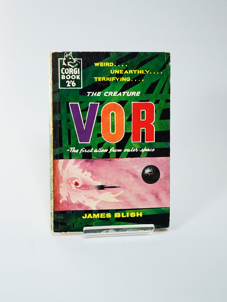 The Creature VOR by James Blish (Corgi Books / 1959)