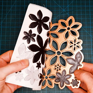 Remove your magnetic shapes from the die