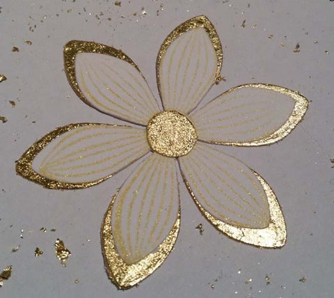 Gilded Flower using Sticky Roll