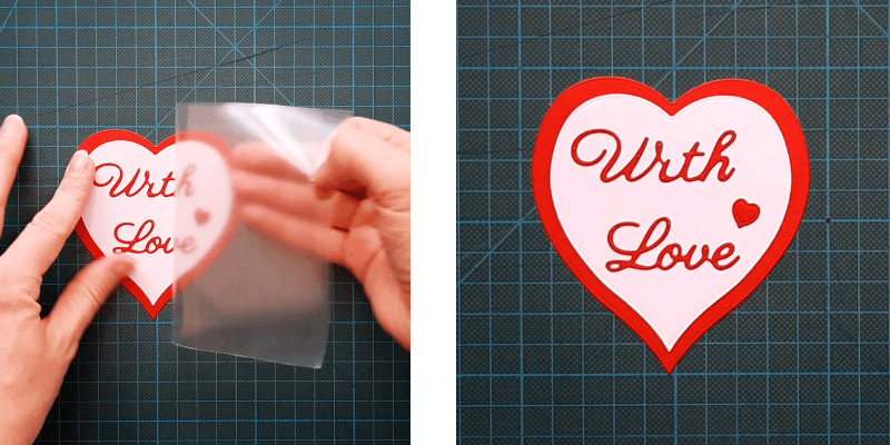 Lift up your die-cut sentiment using Transfer Roll and apply it to your tag