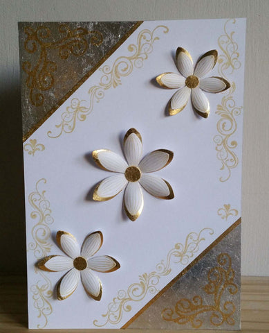 Gilded Flowers and Corners
