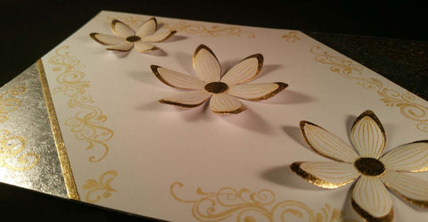 Gilded Flowers using Sticky Roll