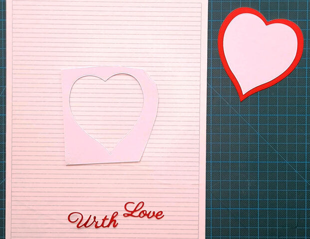 How to get your die-cut sentiments straight