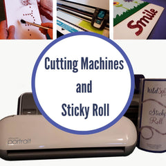 How to use double sided adhesive Sticky Roll with Scan n Cut, Cricut, Silhouette machine