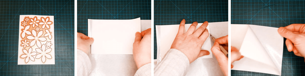 How to apply release paper to Sticky Roll