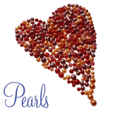 Flat back pearls for craft