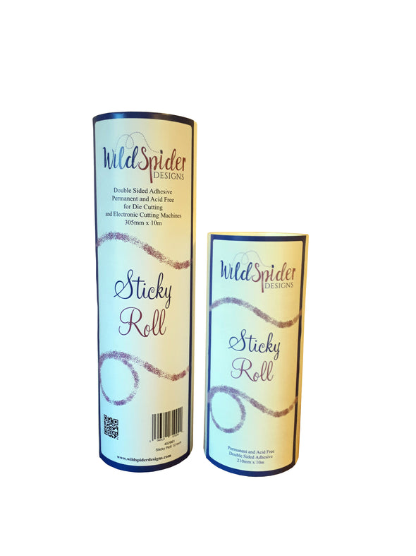 Sticky Roll A4 and 12 Inches. The best glue for sticking die cuts and shapes