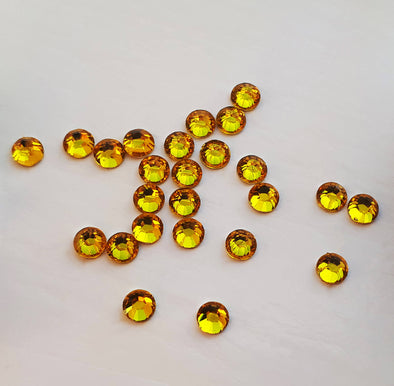 Gold Flat Back Gems